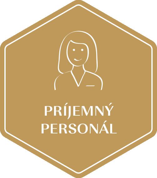 Zlatá etiketa - Příjemný personál