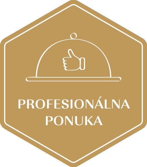 Zlatá etiketa - Profesionální nabídka